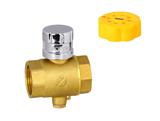 黄铜101型磁性测温锁闭阀