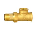 黄铜暖气专用三通